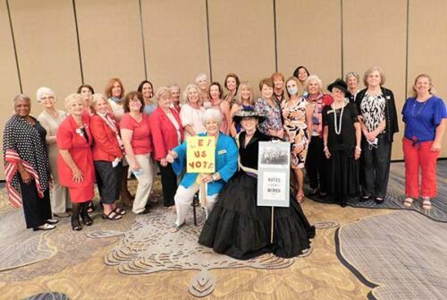 Duval Club August Suffrage meeting Votes for Women